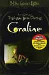 Coraline 2 x NTSC (Region 1) DVDs (Deluxe Two-Disc Collector's Edition with Exclusive Bonus Content + Digital Copy & 3D (Mega Blowout Sale) 025192031748