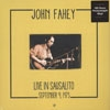 Fahey, John - Live in Sausalito, September 9th, 1973 : 180 gram vinyl lp (due to size and weight, this price for the USA only. Outside of the USA, the price will be adjusted as needed)  15-DOLR 2011 H