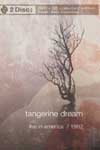 Tangerine Dream - Live in America 1992 DVD + CD (special) 11-EE 30087