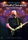 Gilmour, David - Remember That Night: Live at the Royal Albert Hall 2 x DVDs  28/COLUMBIA 07424