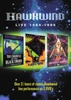 Hawkwind - Live 1984-1995 : 3 x DVDs 21/CHERRY RED BOX 1