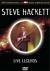 Hackett, Steve - Live Legends DVD 25/CRP 1647
