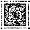 Werren, Phillip - Electronic Music (1968-1971) 2 x CDs 05/CAST EXOTIC X 003