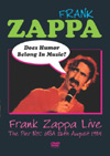 Zappa, Frank - Does Humor Belong In Music? NTSC (all region)  DVD 21/EMI 72134